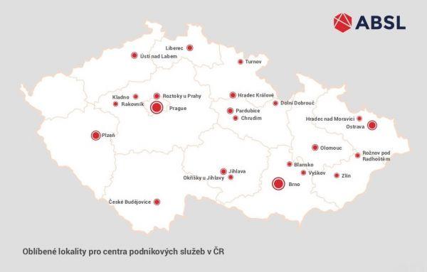 mapa ABSL