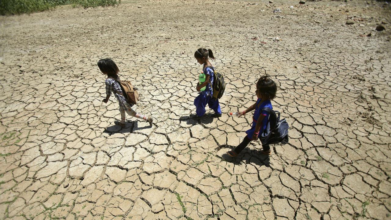 Indie, horko, sucho