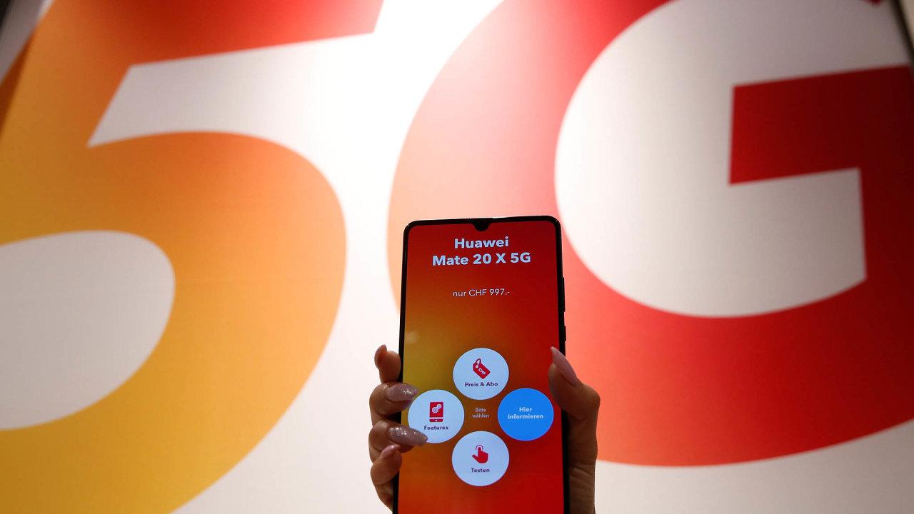 Očínské společnosti Huawei se mluví jako ojednom zhlavních dodavatelů technologií pro budování sítě 5G.