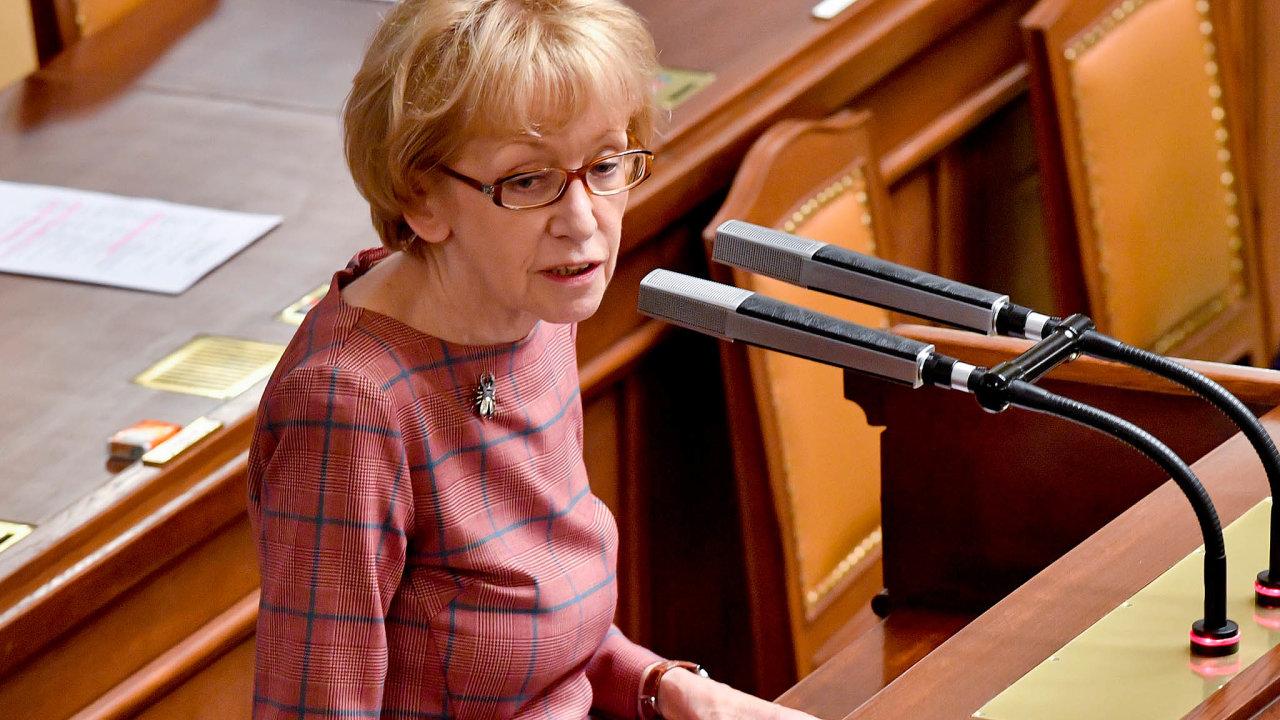 Kvůli spolupráci sprokurátorem Josefem Urválkem právnička Helena Válková ombudsmankou nejspíš nebude. Zpochybněno je však ijejí působení coby vládní zmocněnkyně pro lidská práva.