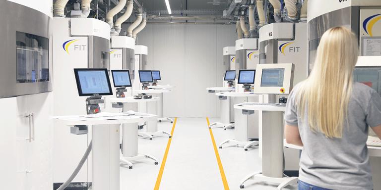 3D tisková výroba FIT pro profesionální aplikace