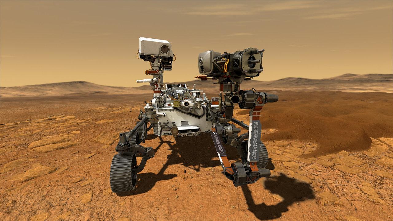 Americký rover Perseverance bude hledat stopy bakteriálního života a zkoumat možnosti výroby kyslíku v marsovských podmínkách pro budoucí mise s lidskou posádkou.