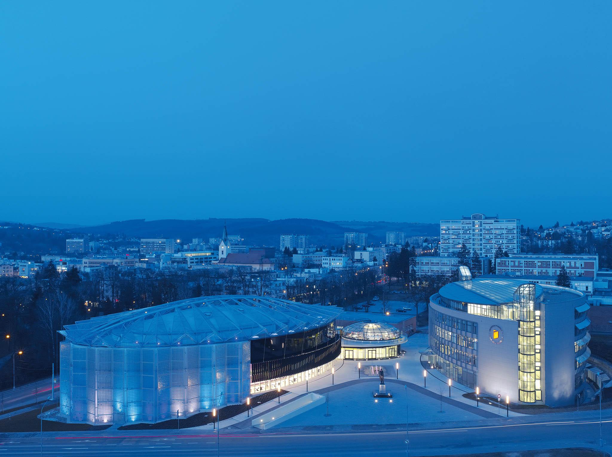 Zlínské Kongresové auniverzitní centrum