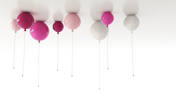 Svítidla připomínající nafukovací balónky jsou jen jedním z originálních nápadů českých designerů