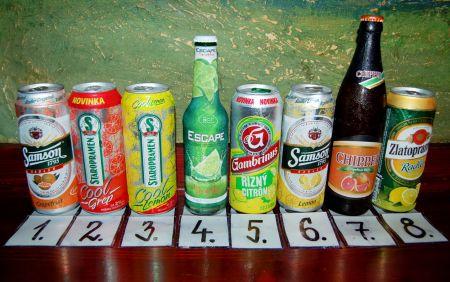 Celkové pořadí degustace radlerů, kterou uspořádala První pivní extraliga. Foto: František Trantina.