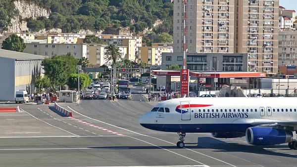 Letiště v Gibraltaru
