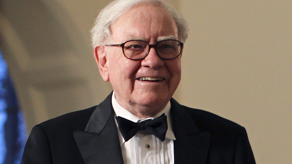Investor a miliardář Warren Buffett