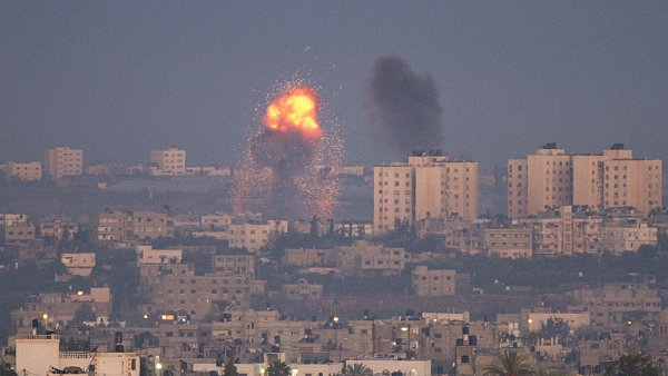 �toky na p�smo Gazy pokra�uj�