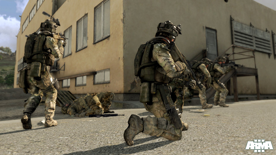 Screenshot ze hry ARMA III