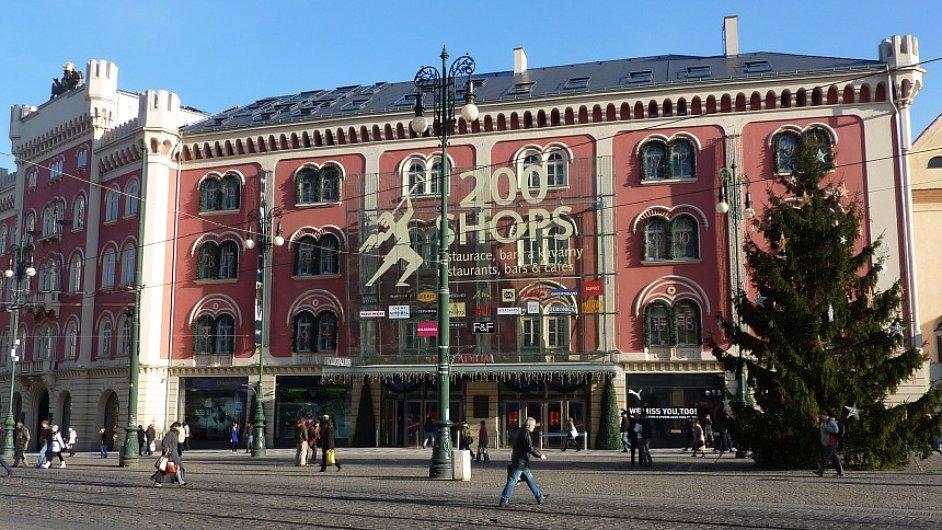 Pražské nákupní centrum Palladium
