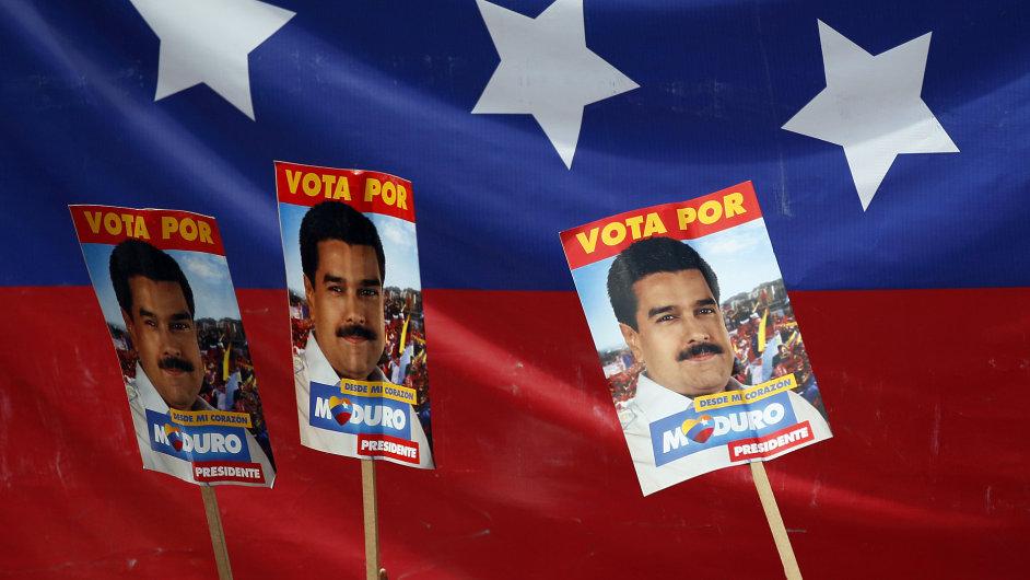 Ostrá předvolební kampaň. Venezuela.