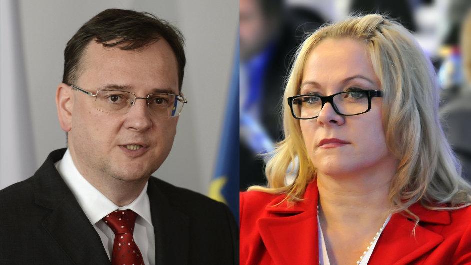 Petr Nečas a Jana Nagyová