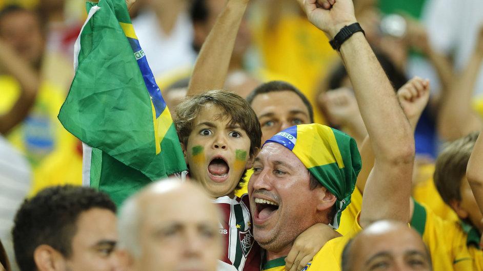 Brazilští fanoušci se z mistrovství světa už tolik neradují.