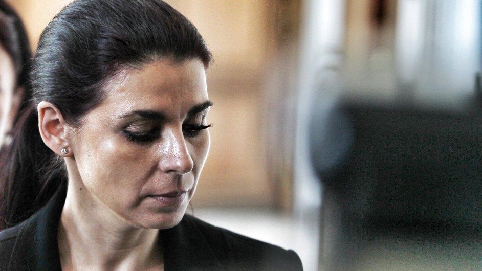 Kateřina Pancová před soudem