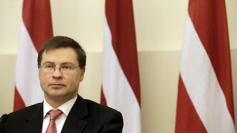 Lotyšský premiér Dombrovskis podal demisi.