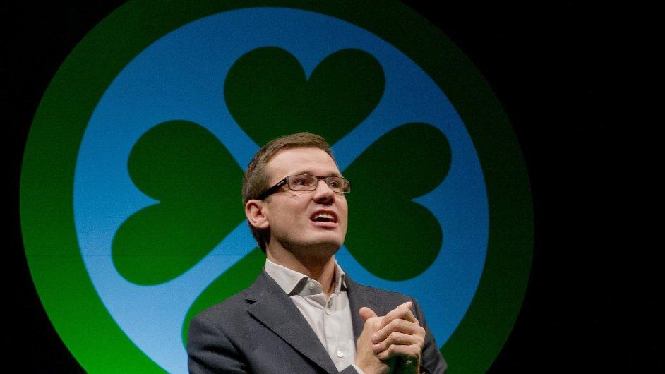 Ondřej Liška zůstalů v čele Strany zelených