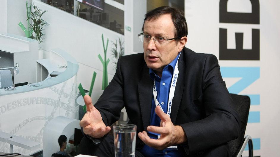 Jiří Šviga, generální ředitel veletrhu Amper 2014, jednatel Terinvestu