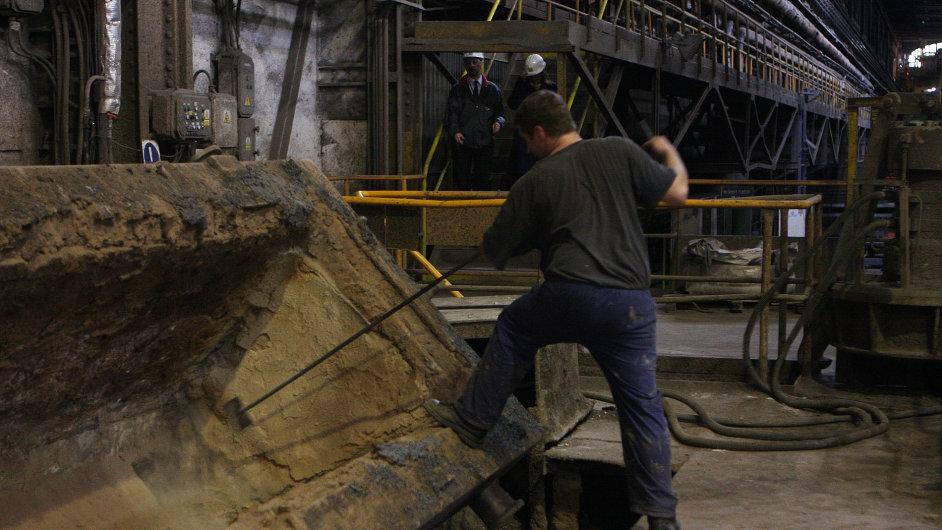 Společnost Vítkovice Steel v Ostravě zaměstnává přibližně tisícovku lidí.