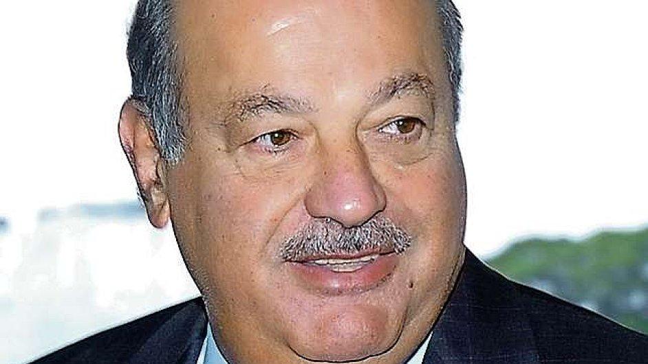 Carlos Slim je podle Forbesu opět nejbohatším člověkem na světě.