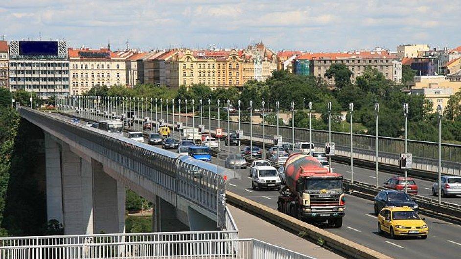 Od května se bude opravovat Nuselský most