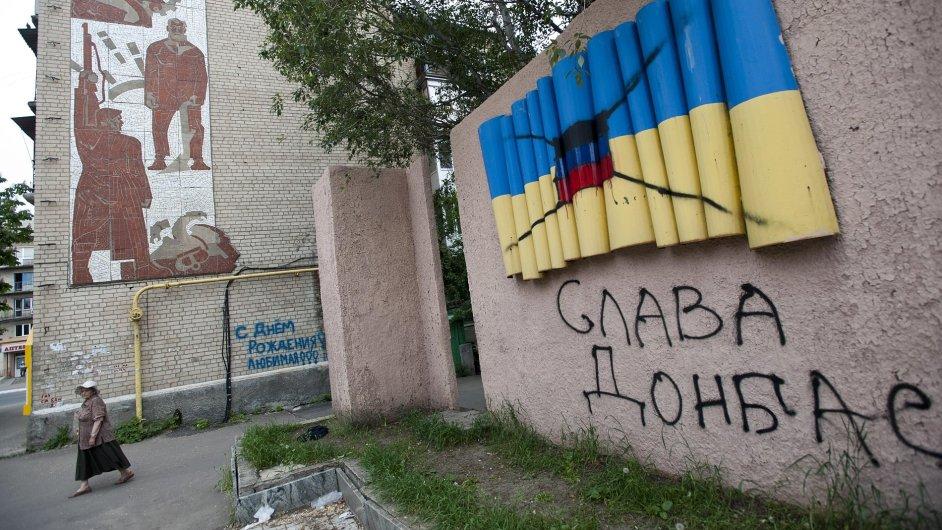 Boje ve východoukrajinském Artěmivsku