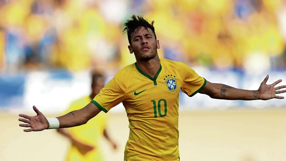 Politiky zatratili. Útočník Neymar ale miláčkem Brazilců zůstává.