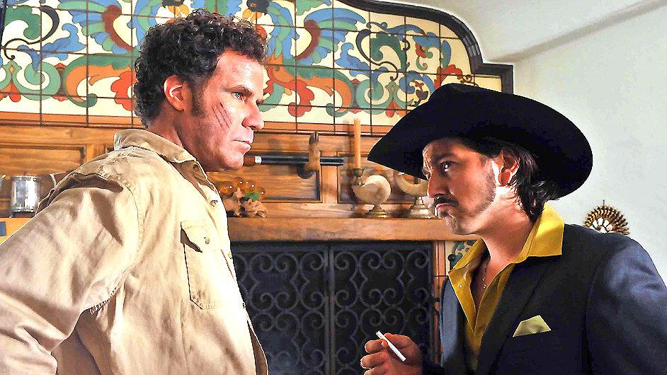 V hollywoodském filmu Casa de mi Padre si Will Ferrell zahrál s Mexičanem Diegou Lunou.