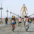 Sn�mky z leto�n�ho festivalu Burning Man