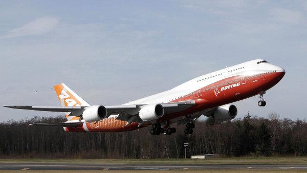 Čínské aerolinky si objednaly 110 letounů Boeing - Ilustrační foto.