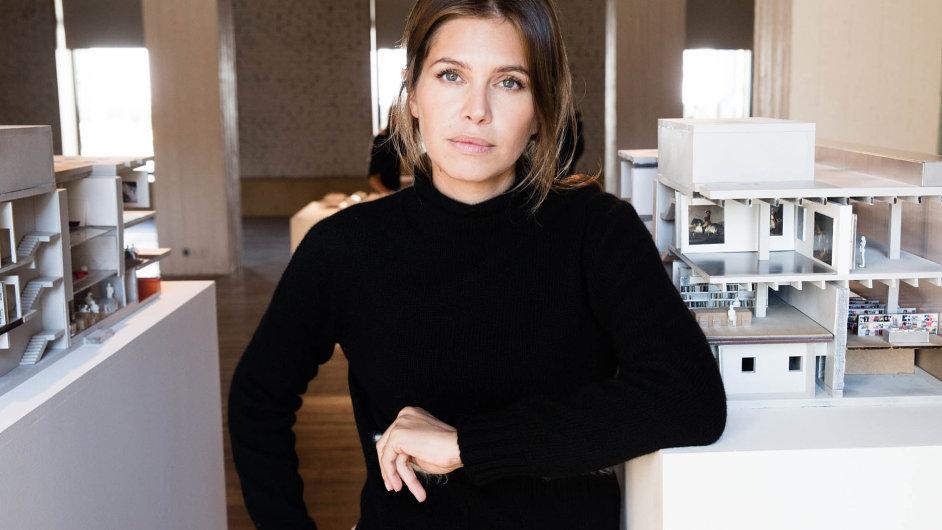 Zakladatelka Muzea současného umění Garage Darja Žukovová.