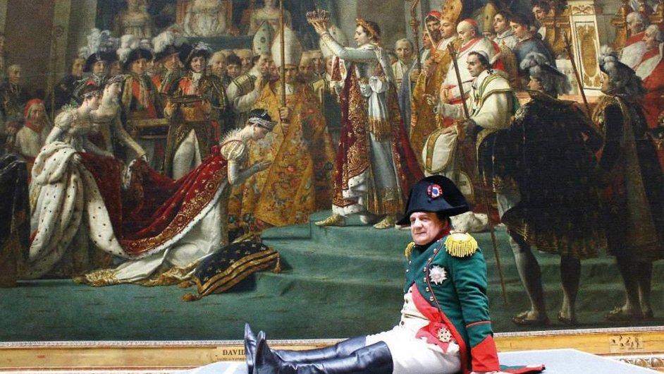 Napoleon na snímku z filmu Francofonia režiséra Alexandra Sokurova.