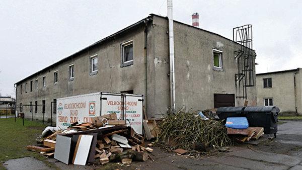 Zanedban� ubytovna v Dluhonsk� ulici v P�erov�
