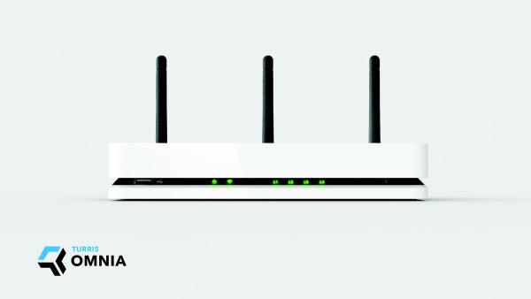 Turris Omnia router vysokerozliseni