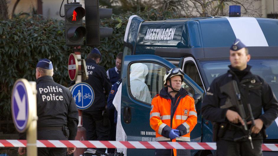 Policie zasahovala ve Velké bruselské mešitě, kde našla podezřelý balíček.