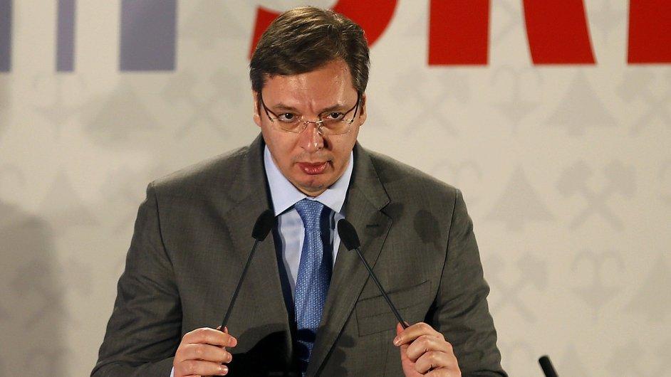 Premiér Srbska Bratislav Vučić.