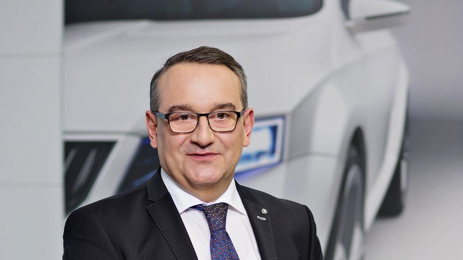 Luboš Vlček, šéf Škody Auto v Česku