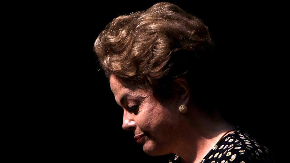 Brazilská prezidentka Dilma Rousseffová.