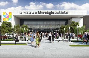 Nové outletové centrum otevře v Praze příští rok.