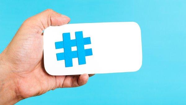 Hashtag - ilustrační obrázek