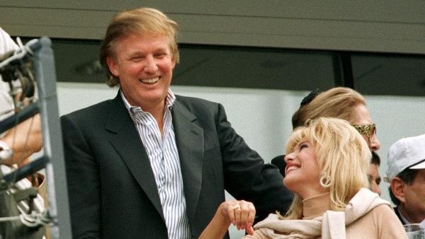 Bývalá manželka Donalda Trumpa Ivana Trumpová se chce stát velvyslankyní pro Českou republiku - archivní foto.