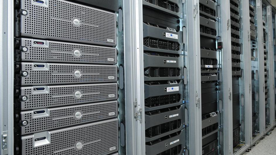 Servery ukrývající archivy Celní správy
