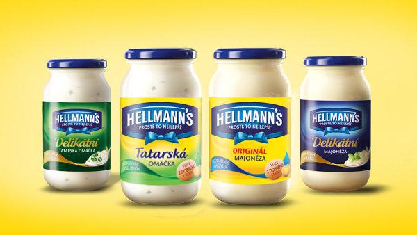 Majonézy Hellmann's