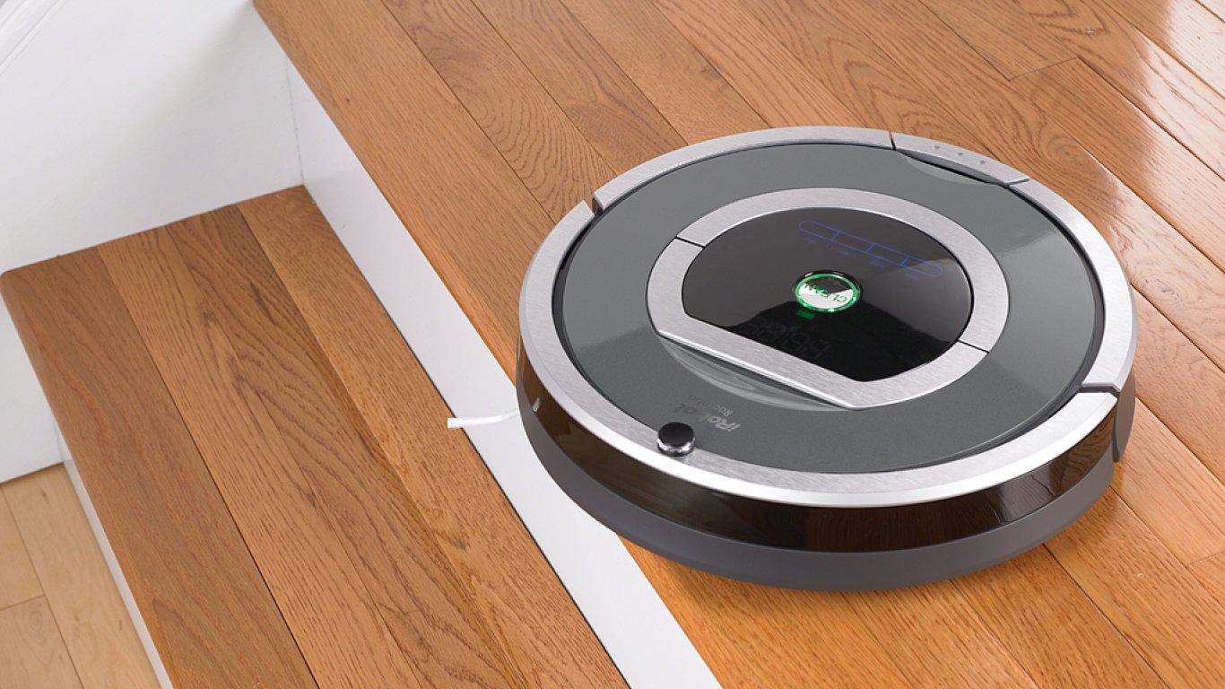 Americká značka iRobot je lídrem na trhu s domácími robotickými přístroji.
