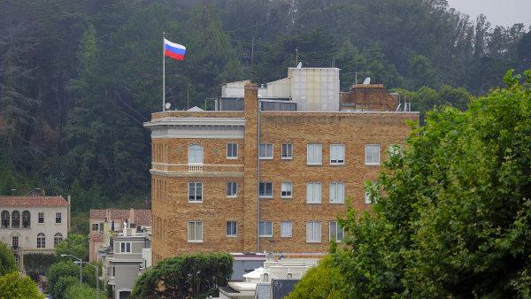 Ruský konzulát v San Francisku.