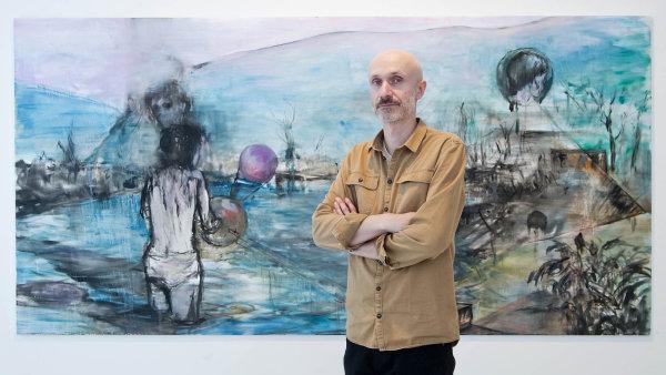 Mezi nejčastější témata v mé práci patří zranitelnost, infantilismus, destrukce a limity, říká Josef Bolf.