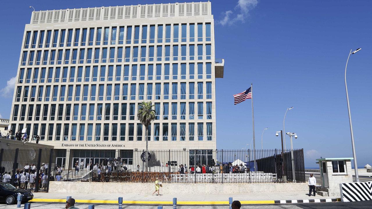 Americká ambasáda v Havaně.