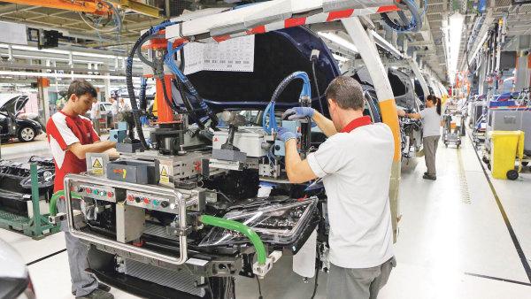 Továrna automobilky Seat ve městě Martorell