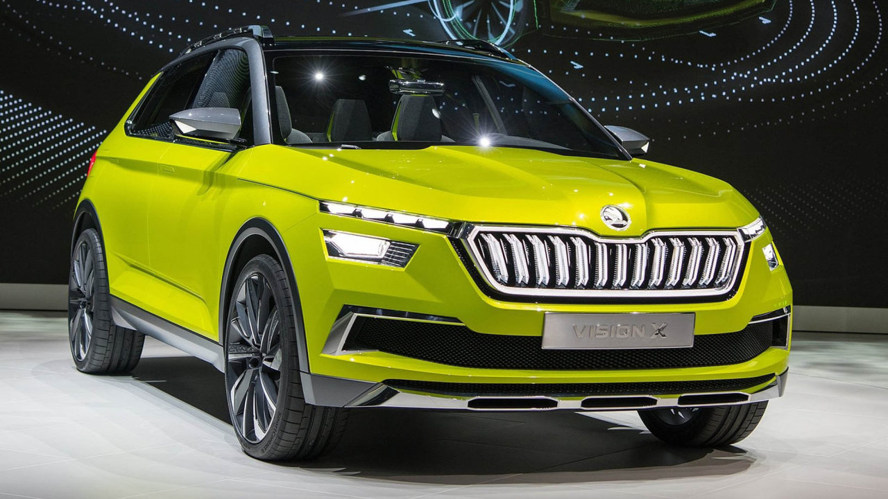 Škoda Vision X: Nejnápadnější novinka stánku mladoboleslavské automobilky ukazuje, jak by v blízké budoucnosti mohl vypadat kompaktní crossover značky Škoda.