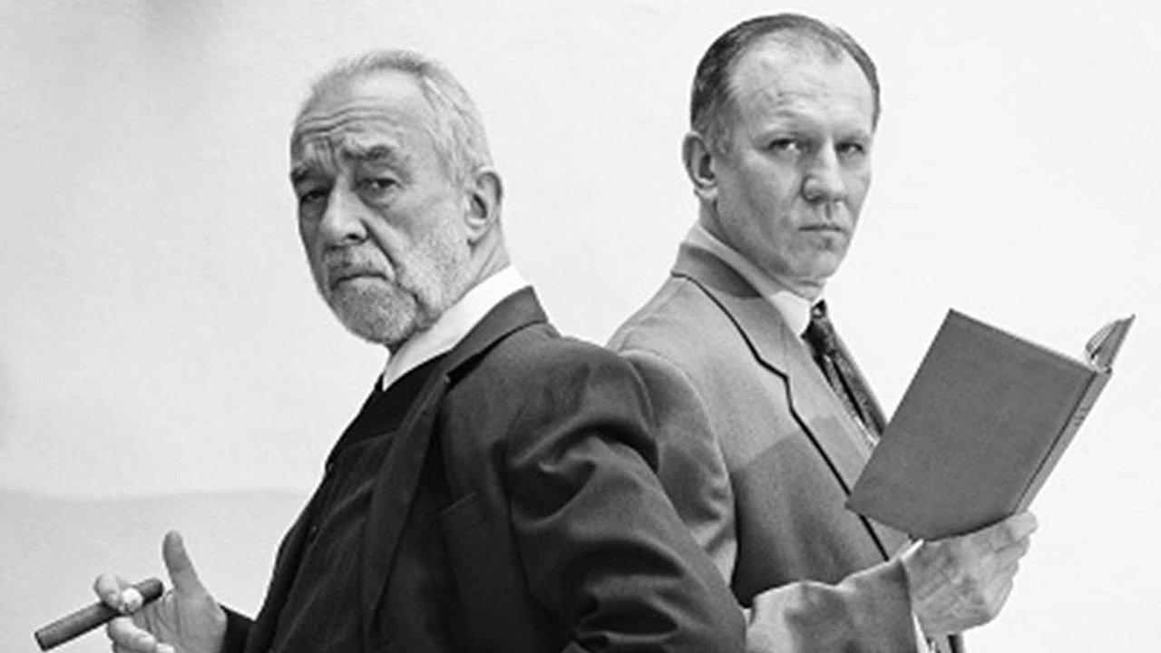 V Posledním sezení u doktora Freuda účinkují pouze herci Pavel Rímský a Martin Finger.