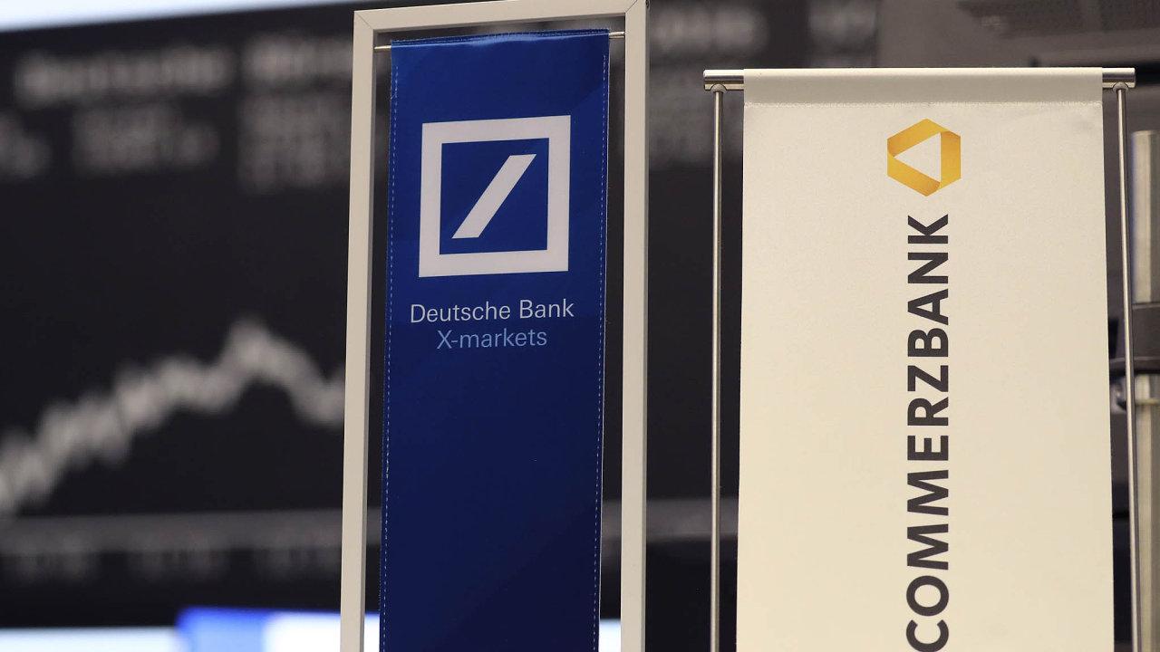 Německá vláda v Commerzbank stále vlastní 15procentní podíl, finančně ji totiž podpořila v době finanční krize.